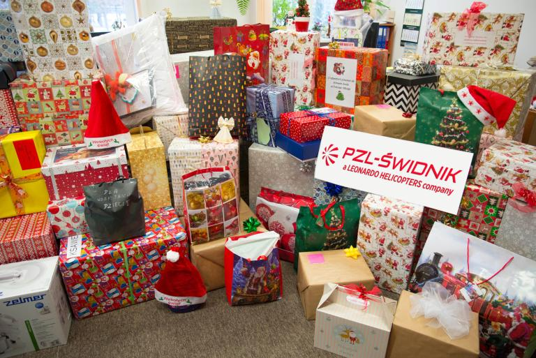 Christmas gifts for Children from child care home